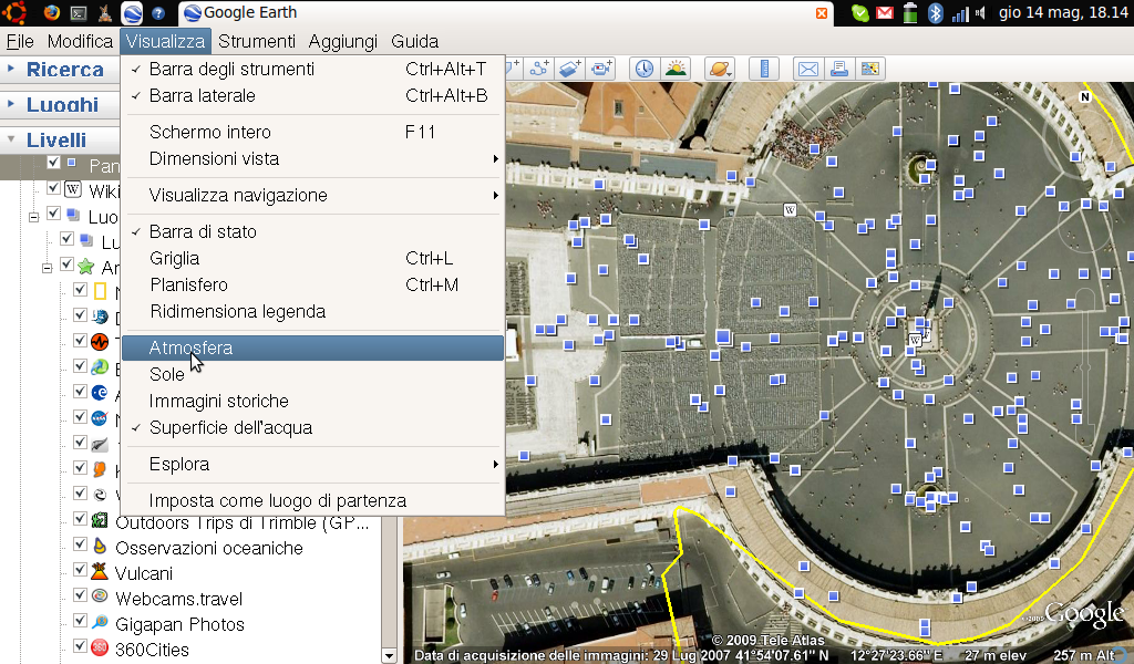 Google Earth su Dell Mini 9
