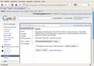 contatti-gmail-importa