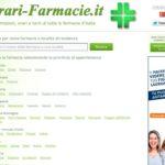 Orari, informazioni e turni delle farmacie d'Italia a portata di click