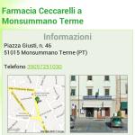 Scheda farmacia mobile: informazioni