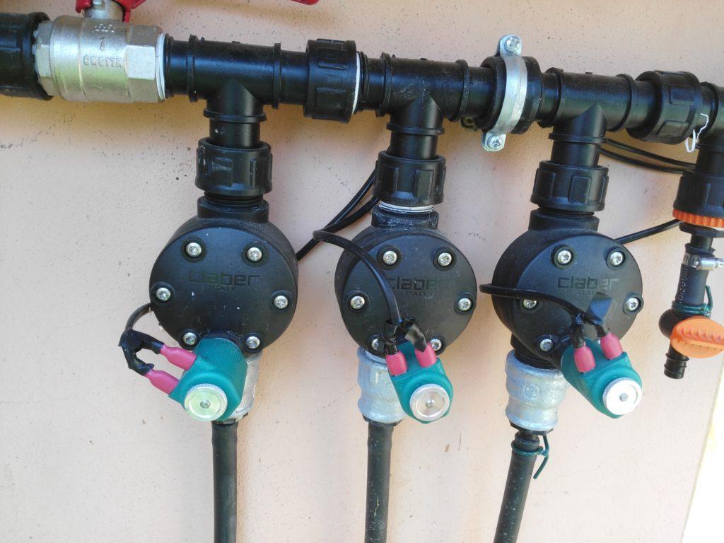 Impianto di irrigazione con raspberry pi collegamenti for Centralina x irrigazione