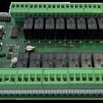 spb16ch: modulo I2C relè 16 canali DC 24V con RTC e EEPROM